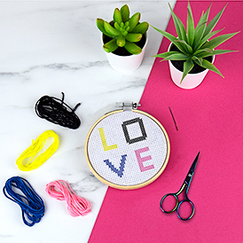 Cross Stitch DIY Kit