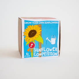 Sow and Grow Sunflower Compettion
