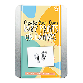 Baby Prints On Canvas