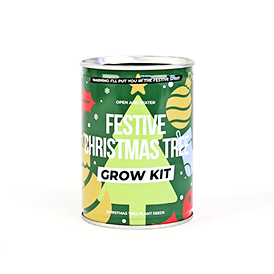 Christmas Tree Grow Tin