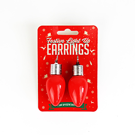 Festive Light Up Earrings