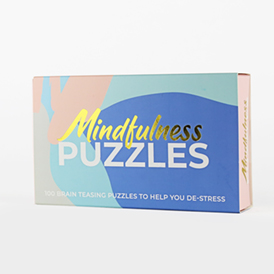 Mindfulness Puzzle Cards