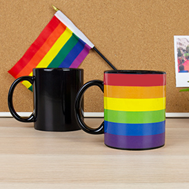 Rainbow Heat Reveal Mug