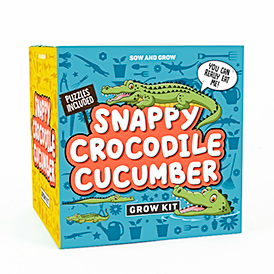 Snappy Crocodile Cucumber Sow & Grow