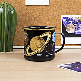 Space Enamel Mug