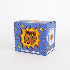 Super Dad heat reveal mug