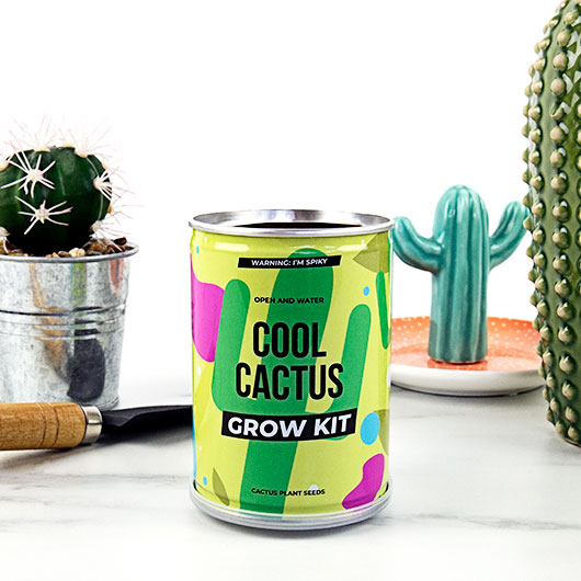 Grow Tin - Cool Cactus