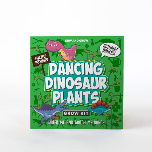 Sow and Grow Dancing Dinosaurs