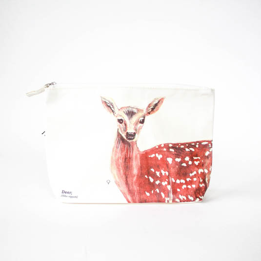 Wild Animals Deer wash bag