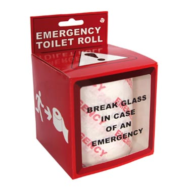 Emergency Toilet Roll
