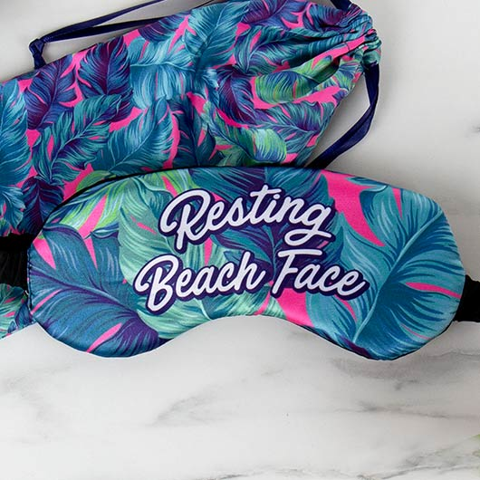 Beach Eye Mask