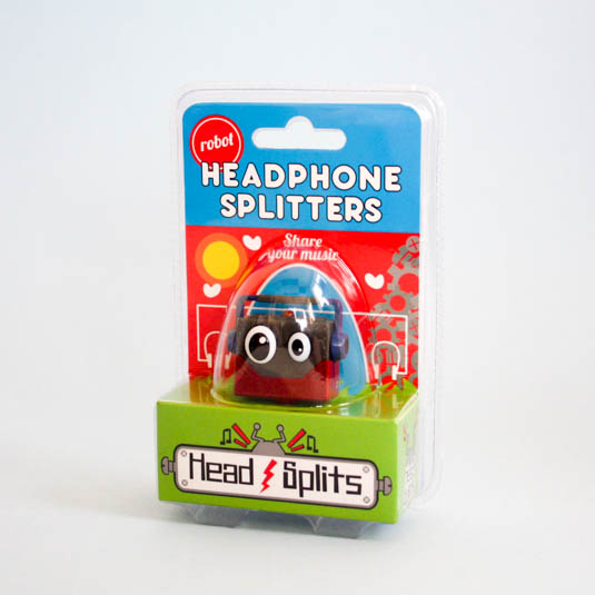 Headphone Splitters - Robot