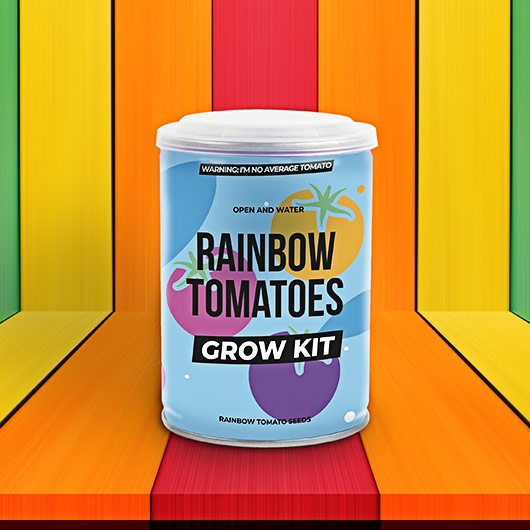 Rainbow Tomato Grow Tin
