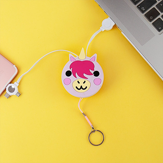 Retractable Unicorn Cable