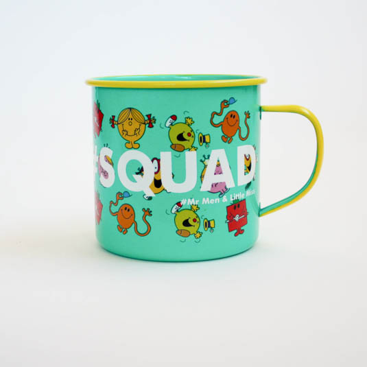 Mr Men Mug - Squad