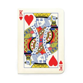 King of Hearts Notebook