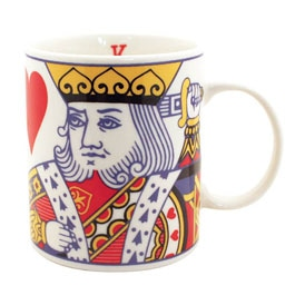 King of Hearts Mug