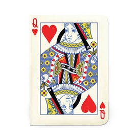 Queen of Hearts Notebook