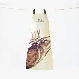 Stag Apron