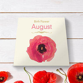 Birth Flowers - August