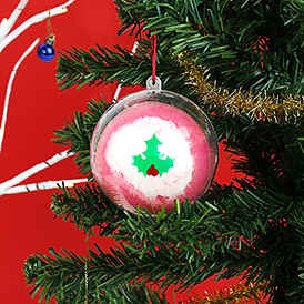 Festive Bath Bomb Bauble