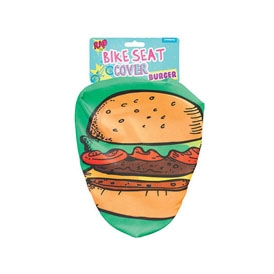 Burger Bike Seat Cover