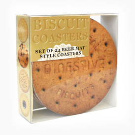 Novelty - Biscuit Coasters