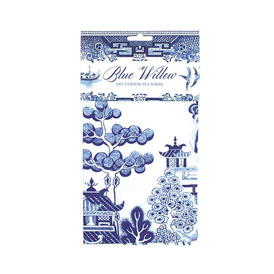 Blue Willow Tea Towel