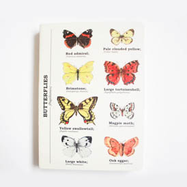 Butterfly A6 Notebook
