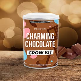 Grow Tin - Charming Chocolate
