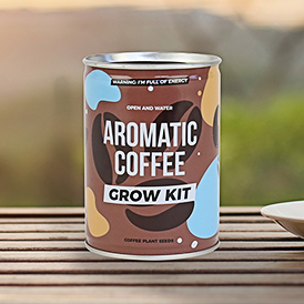 Grow Tin - Aromatic Coffee