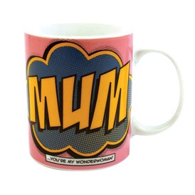 Comic Book Mum Mug
