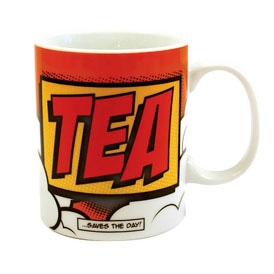 Comic Book Tea Mug