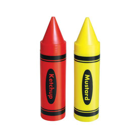 Condiment Crayons