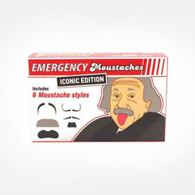 Emergency Moustaches - Iconic