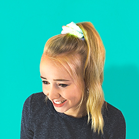 Flower Child LightUp Scrunchie