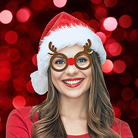 Festive Face Glasses