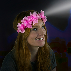 Flower Child Head Torch