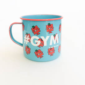 Mr Men Mug - Gym
