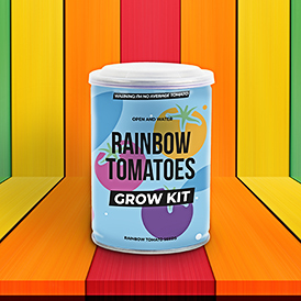 Grow Tin - Rainbow Tomatoes