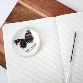 Red Admiral Paper Weight