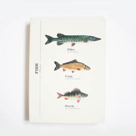 Fish A6 Notebook