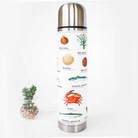 Sea Life Vacuum Flask